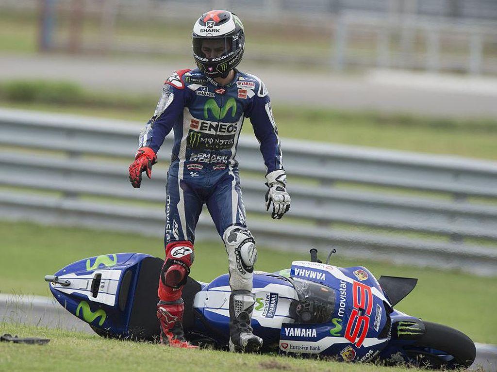 Ada 275 Crash di MotoGP Musim Ini, 1.011 Crash di Seluruh Kelas