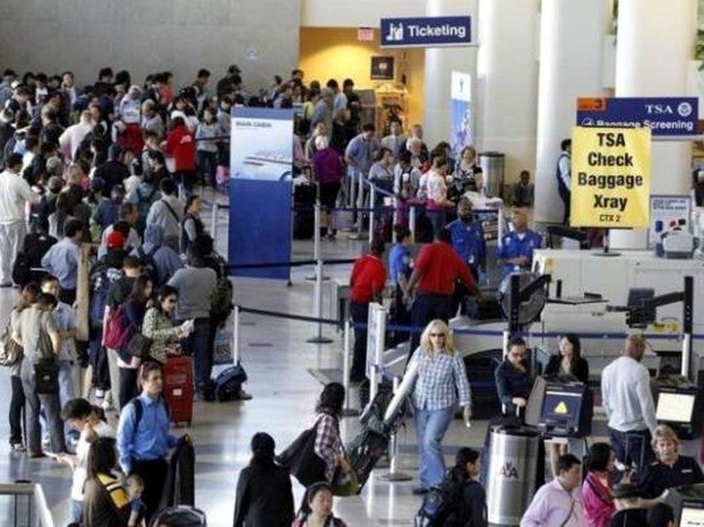 Nyaris Rp 14,7 M Uang Turis Ketinggalan di Bandara Amerika