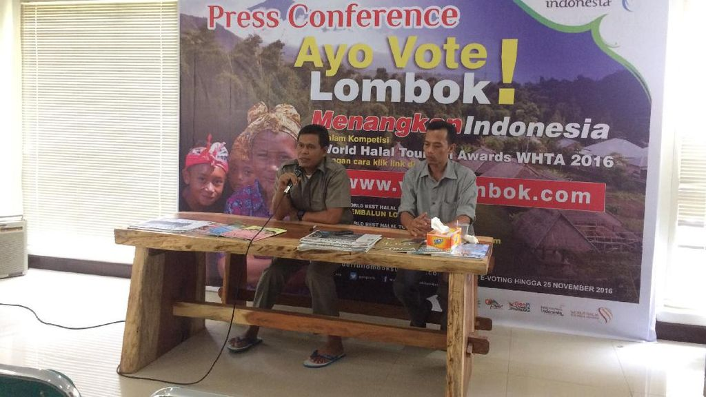 Galang Dukungan di Kompetisi Halal Dunia, Disbudpar NTB Siapkan Hadiah