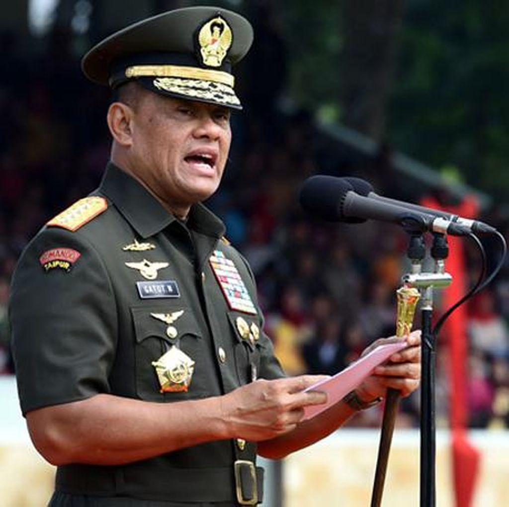 DPR Apresiasi Sikap TNI Soal Ormas Anti-Pancasila