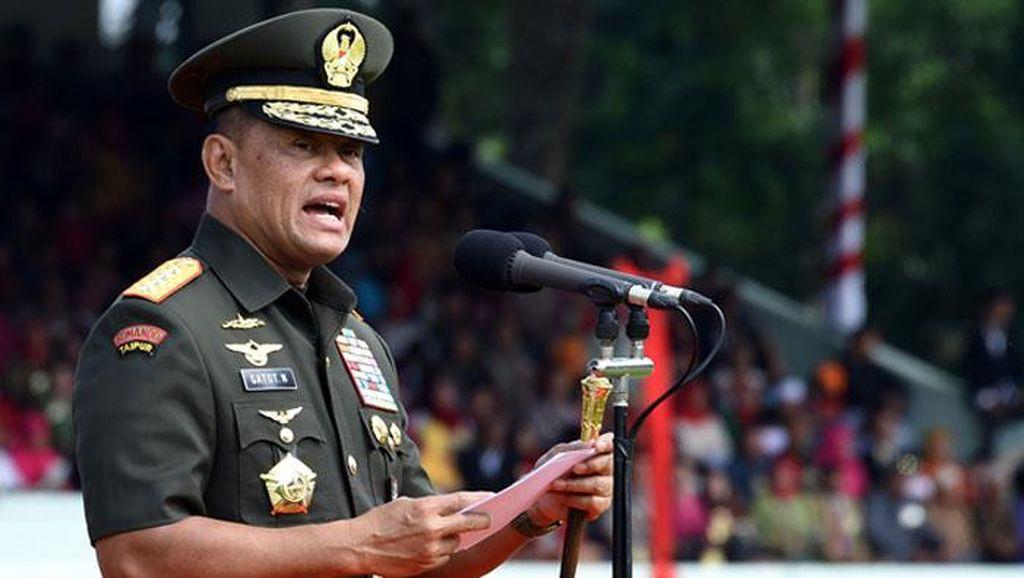 Panglima TNI akan Tindak Tegas Anggotanya yang Bekingi Ormas