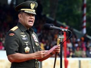 Panglima: Bila Anggota TNI Korupsi, Hukuman Lebih Berat dari Sipil