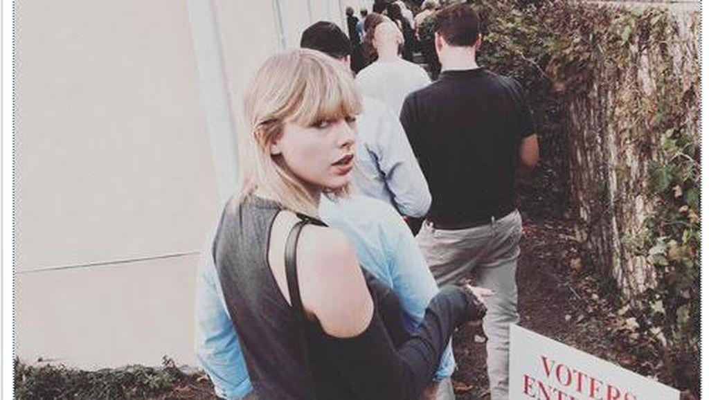 Capres Pilihan Taylor Swift Jadi Trending di Google
