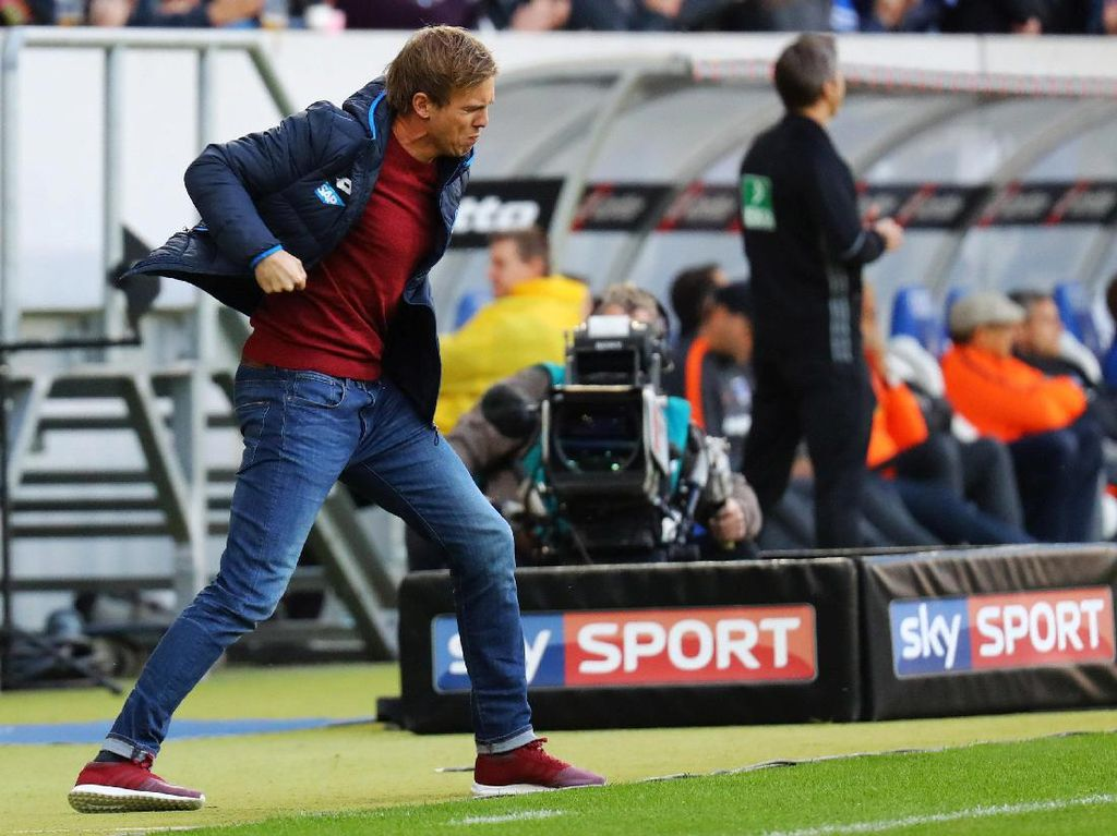 Santai soal Kans Finis Ketiga, Hoffenheim: Tekanan Ada di Dortmund