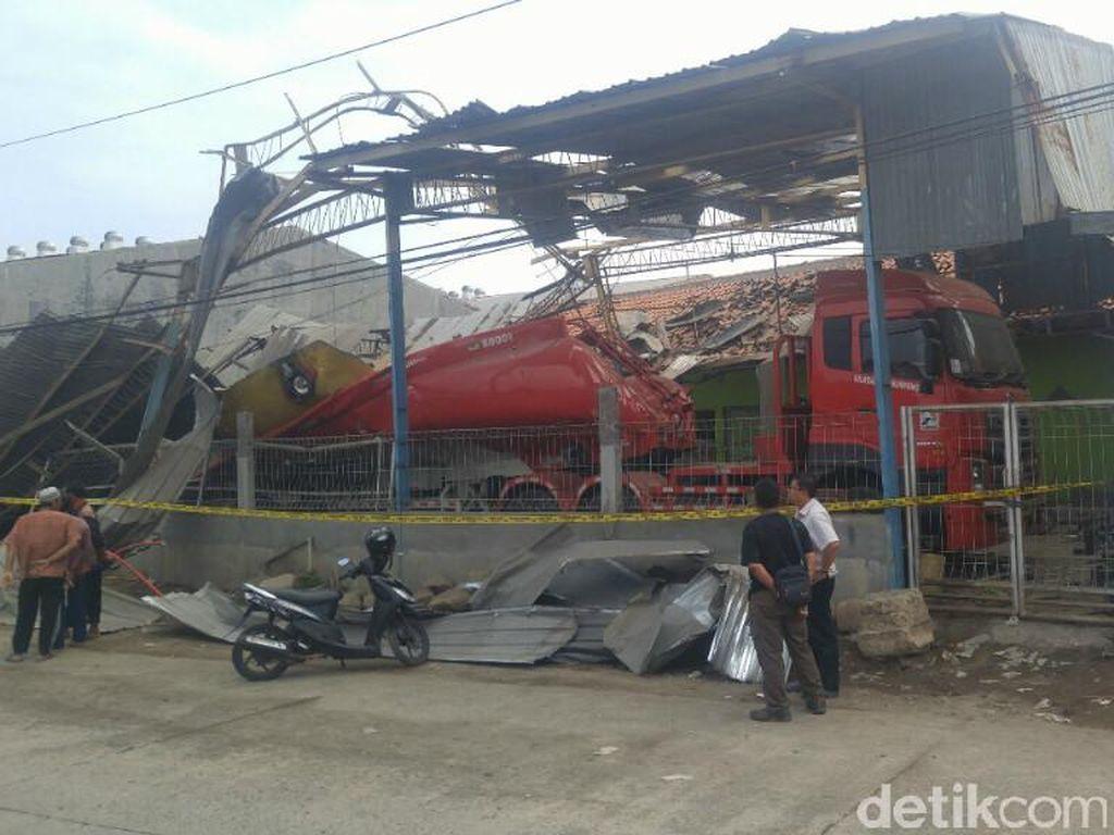 Ledakan Truk Tangki di Semarang Diduga dari Puntung Rokok