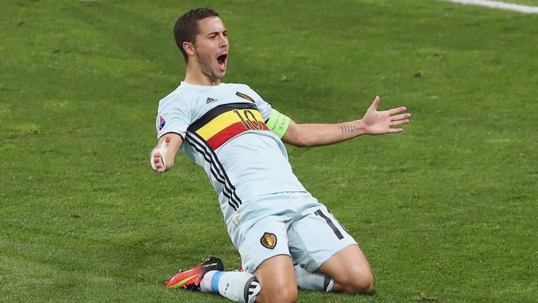 Cedera Betis, Hazard Batal Perkuat Belgia