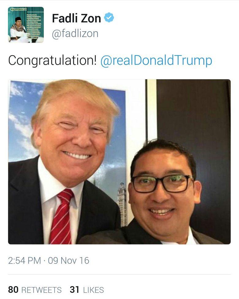 fadli-zon-unggah-foto-selfie-dengan-donald-trump--congratulation