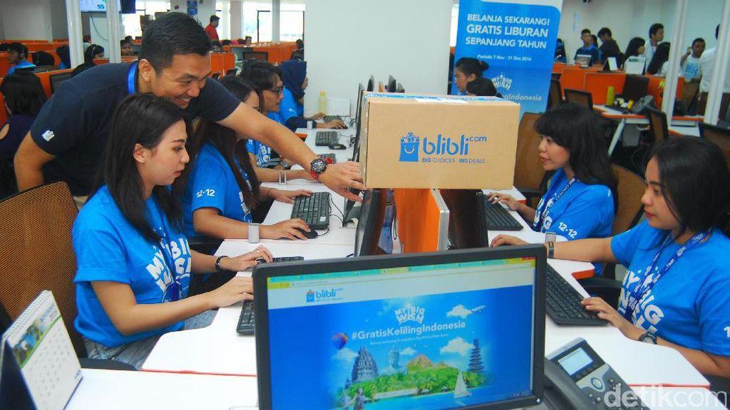 Belanja Online, Gratis Keliling Indonesia