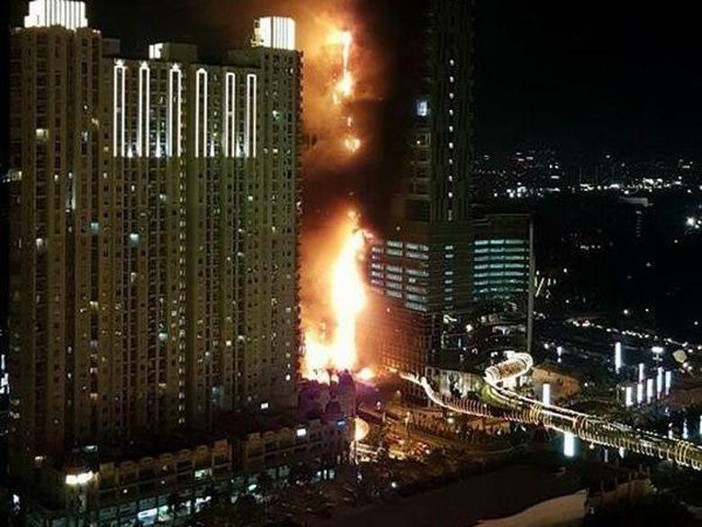 Penyebab Kebakaran Neo Soho Masih Diselidiki, Ini Penjelasan Podomoro City