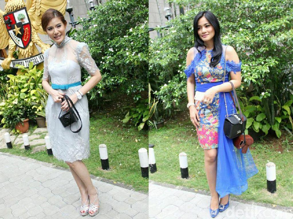 Cantiknya Titi Kamal dan Olga Lidya, Pilih Siapa?