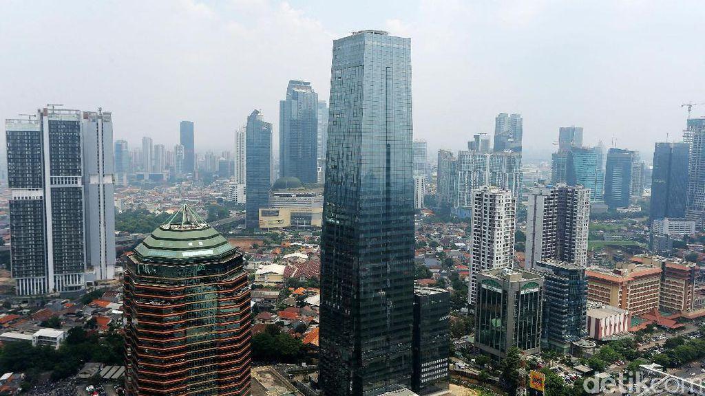 Deretan Gedung Bertingkat di Jakarta