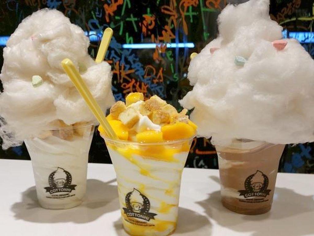 Jeju Ice Cream dan Cotton Candy Ice Cream, Es Krim Unik dari Korea Selatan