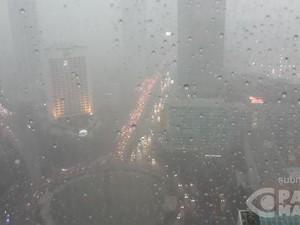Hujan Deras dan Angin Kencang Melanda, Lalin Jalanan Jakarta Macet