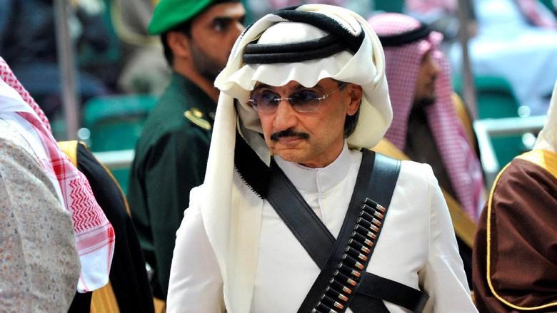 Terciduk Karena Dugaan Korupsi, Ini Bisnis Pangeran Alwaleed