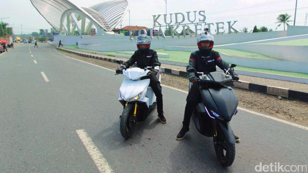 Motor Listrik Gesits Masuki Jawa Tengah