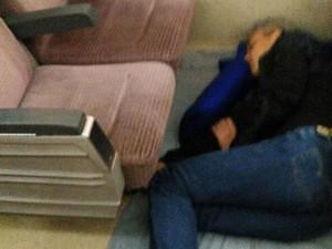 Ganjar Tidur di Lantai Gerbong Kereta, PT KAI: Seharusnya Tak Boleh