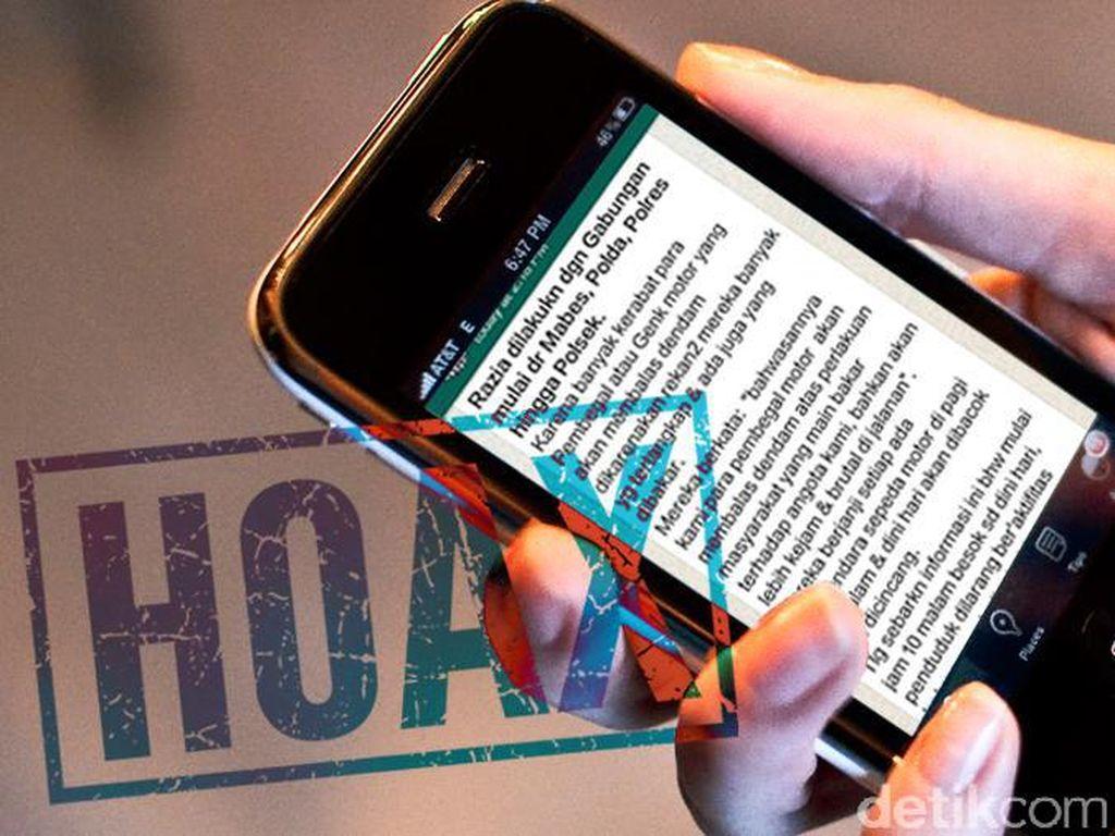 Hoax! Screenshot Pesan WhatsApp Bisa Ketahuan Penggunanya