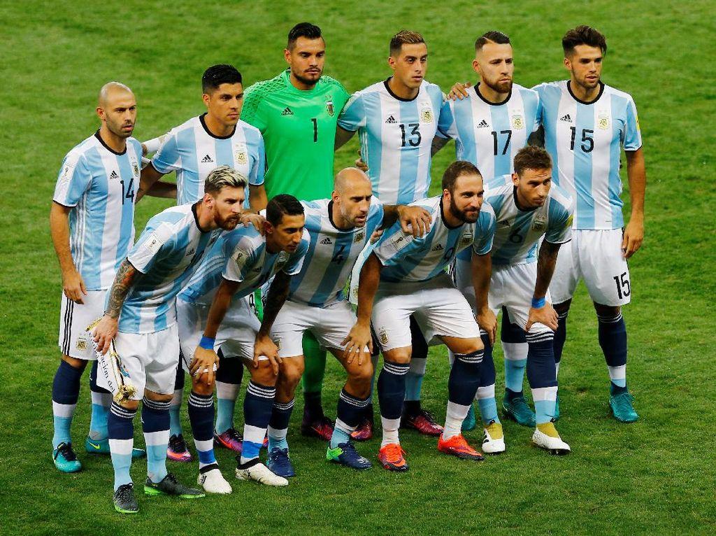 Argentina Tutup Tahun di Puncak, Peringkat Indonesia Naik