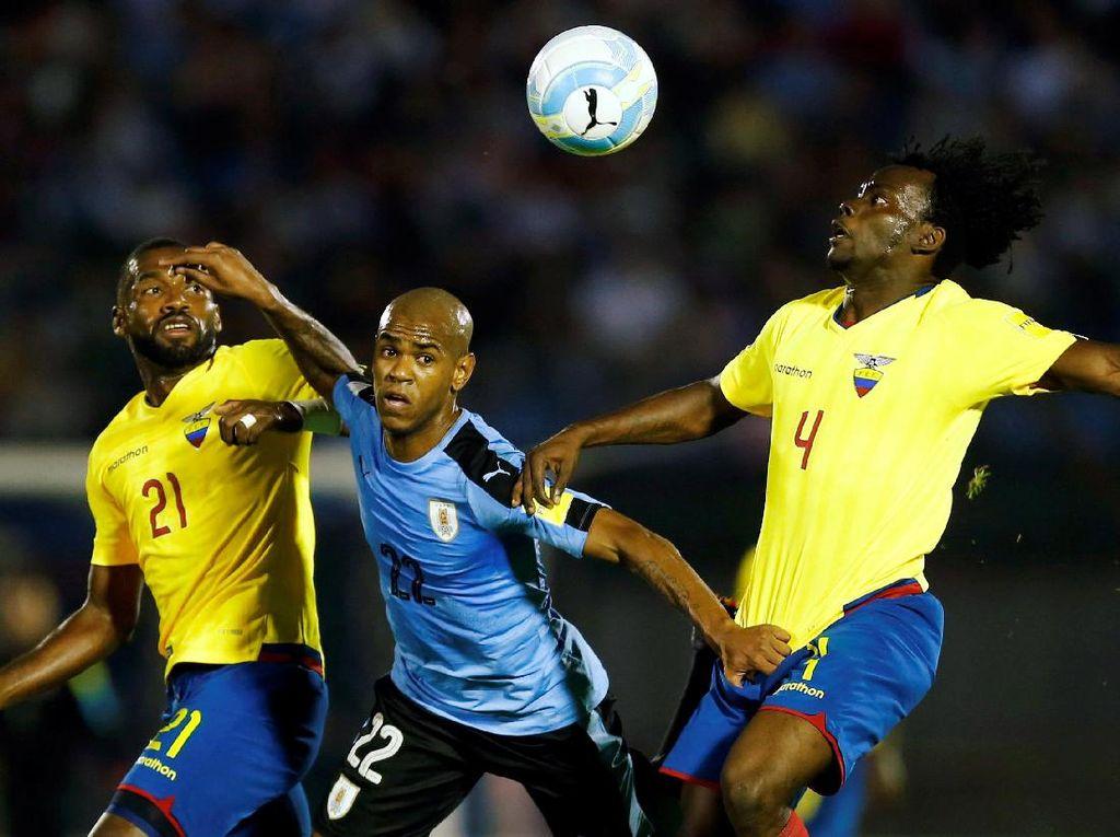 Uruguay Menang Tipis atas Ekuador
