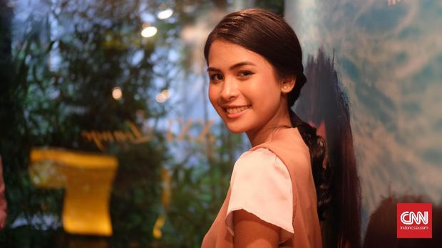 Maudy Ayunda berhasil mendapatkan nominasi berkat lagu tema 'Habibie & Ainun