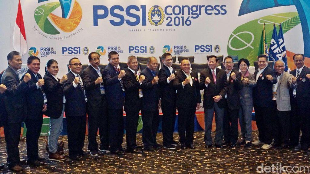 PSSI Gelar Kongres Tahunan di Bandung pada 8 Januari