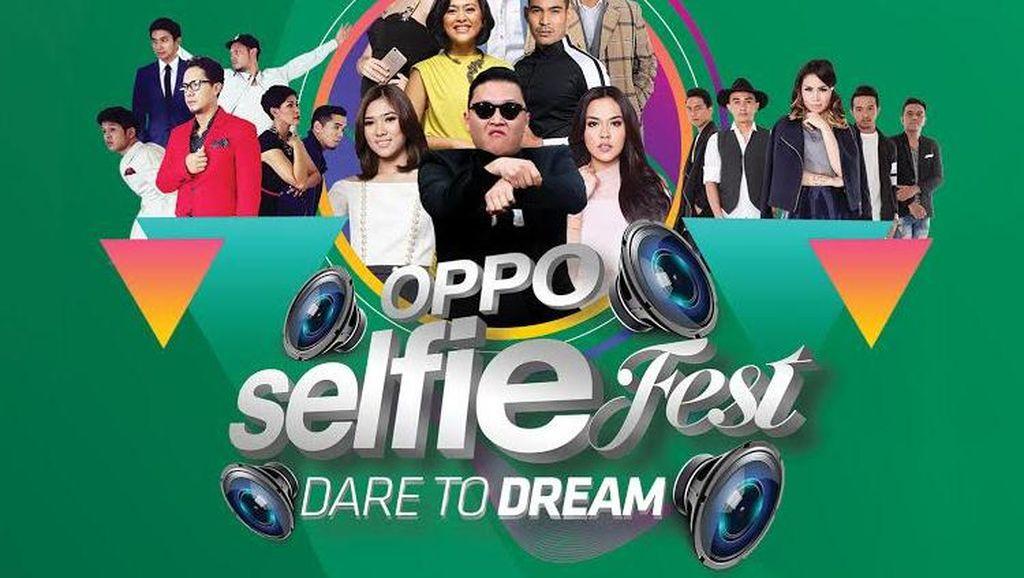 Festival Selfie Oppo Datangkan Psy Gangnam Style