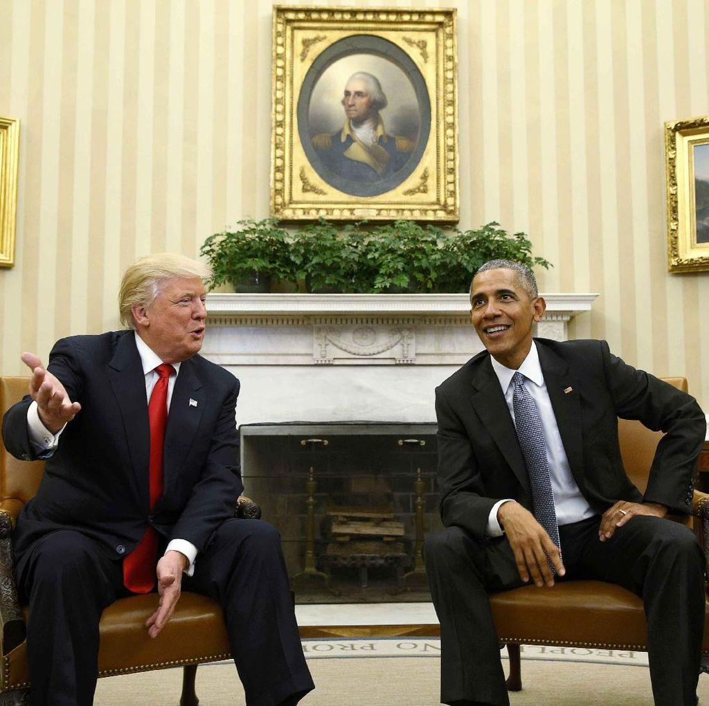 Donald Trump Terus Memuji Hubungan Baiknya dengan Obama