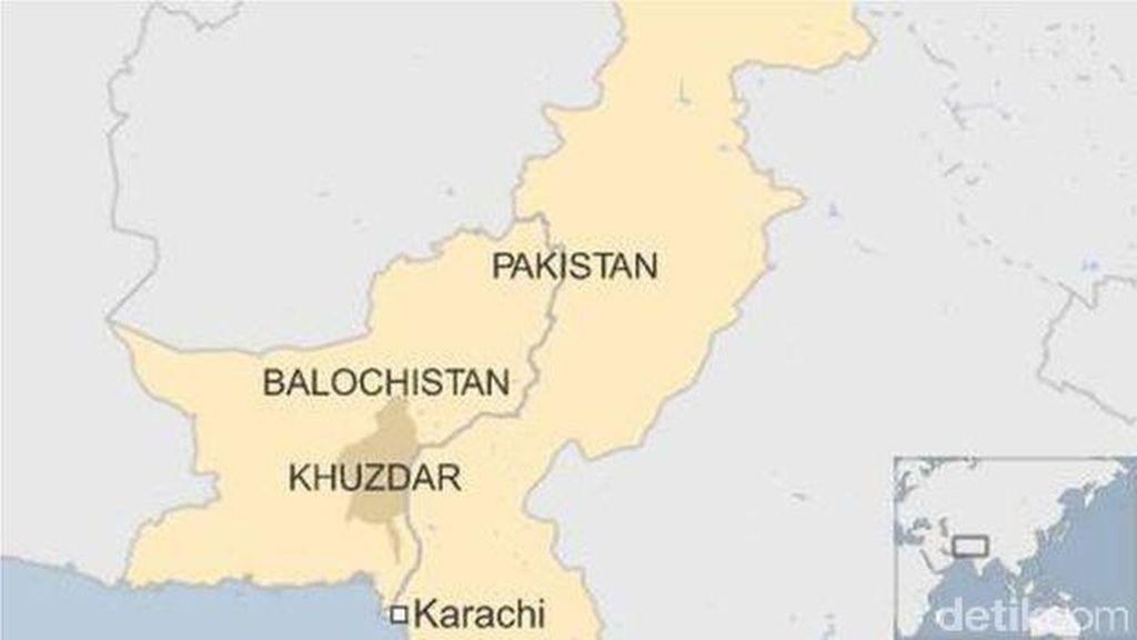Serangan Terhadap Muslim Sufi di Pakistan Menewaskan 52 Orang