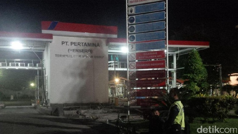 1 Orang Terluka, Penyebab Kebakaran Tangki BBM Belawan Masih Diselidiki