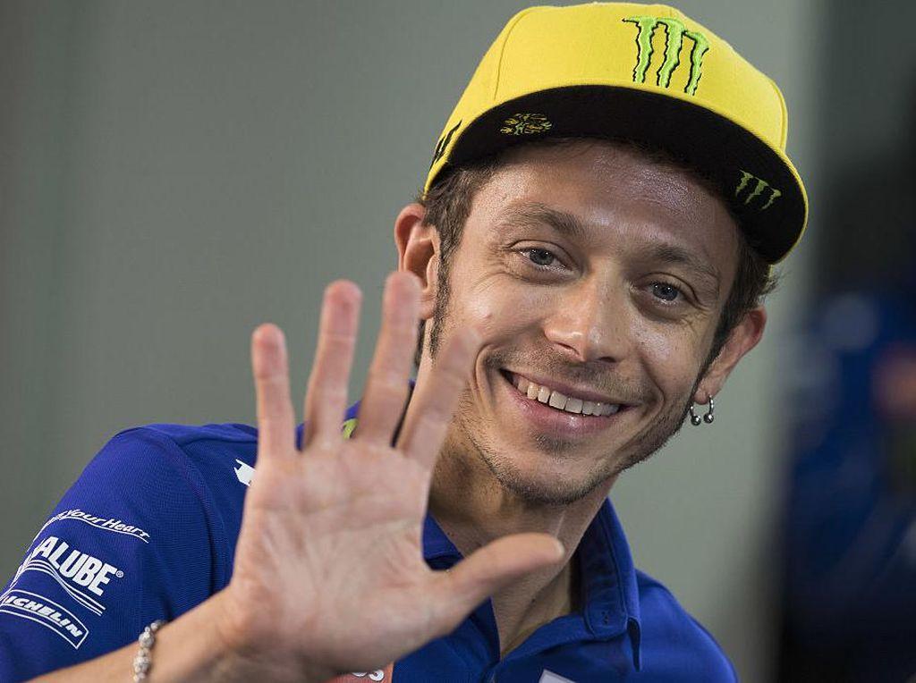 Rossi Legenda yang Bikin Rider Italia Lain Jadi Nomor Dua