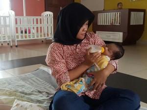 Bayi dalam Kardus di Jagakarsa Dirawat di Panti Balita