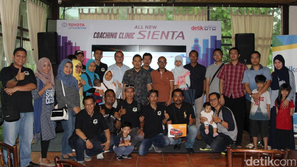 Coaching Clinic Toyota Sienta