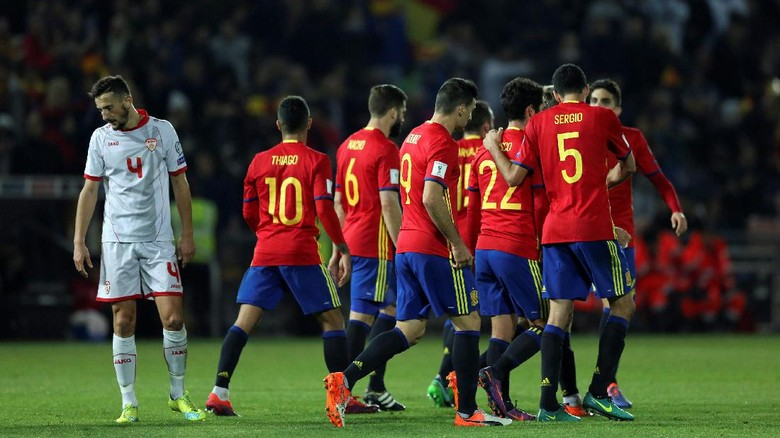 Lawan Inggris, Kesempatan Spanyol Ukur Perkembangan Tim di Bawah Lopetegui