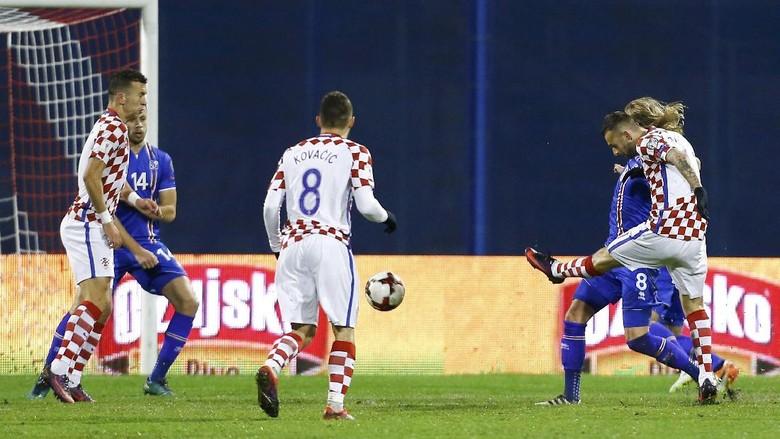Islandia Ditundukkan Dua Gol Oleh Kroasia