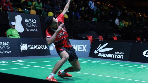 Chico Aura Dwi Wardoyo berhasil lolos menjadi wakil Indonesia ke final Kejuaraan Dunia Junior 2016. (Dok. PBSI)
