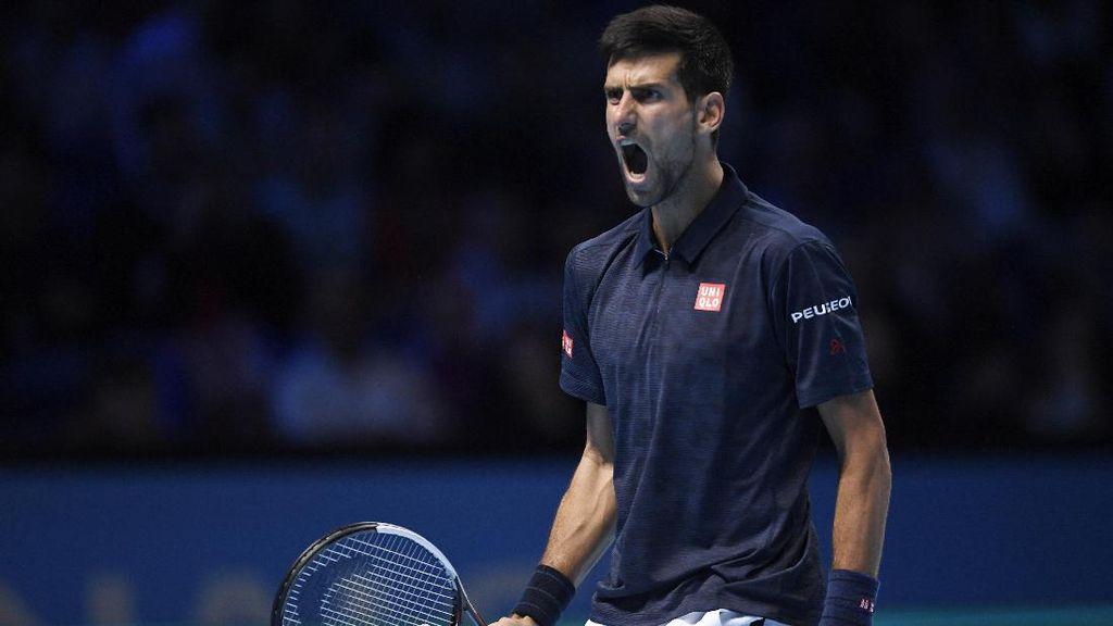 Mood Buruk Djokovic di Partai Pertama