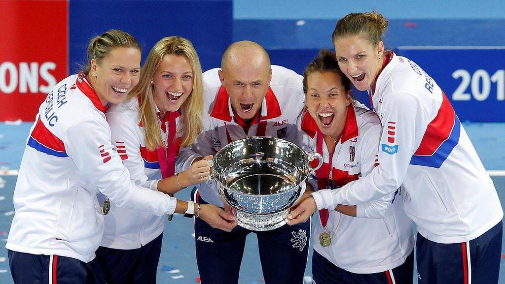 Republik Ceko Juara Piala Fed