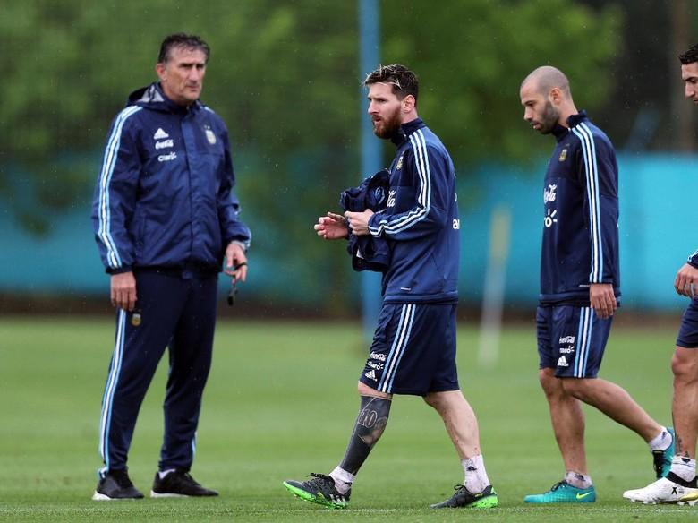 Mimpi Bauza Menangi Piala Dunia 2018 Bersama Messi