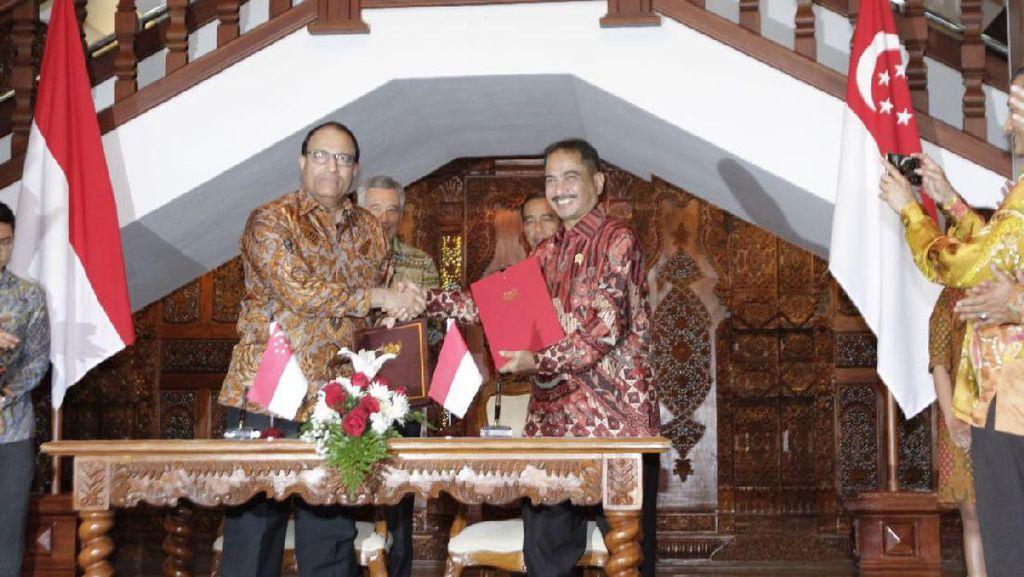 Indonesia dan Singapura Perkuat Kerjasama di Bidang Pariwisata