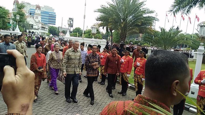 Jokowi: PM Singapura Berterima Kasih atas Penanganan Asap dan Terorisme