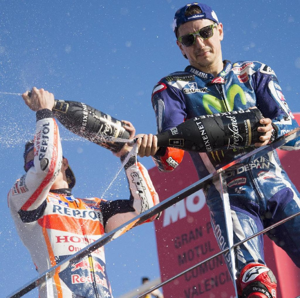 Marquez: Semoga Lorenzo Tak Sukses di Ducati