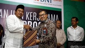BNI Syariah Gandeng 5 Lembaga Penyalur Wakaf