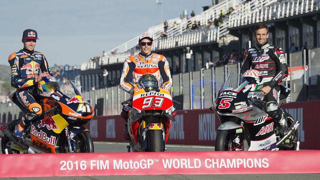 Beragam Penghargaan di MotoGP 2016