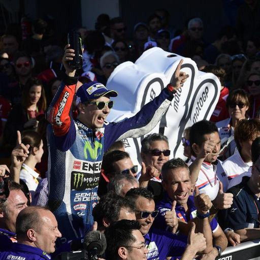 2015 Jadi Musim Terbaik Lorenzo di Yamaha