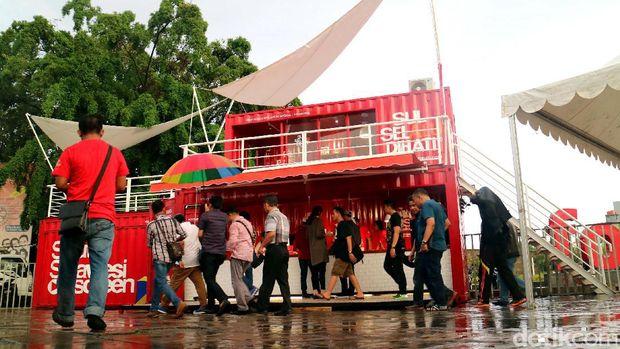 Pop Up Gallery ini sekaligus mempromosikan kekayaan Sulawesi Selatan