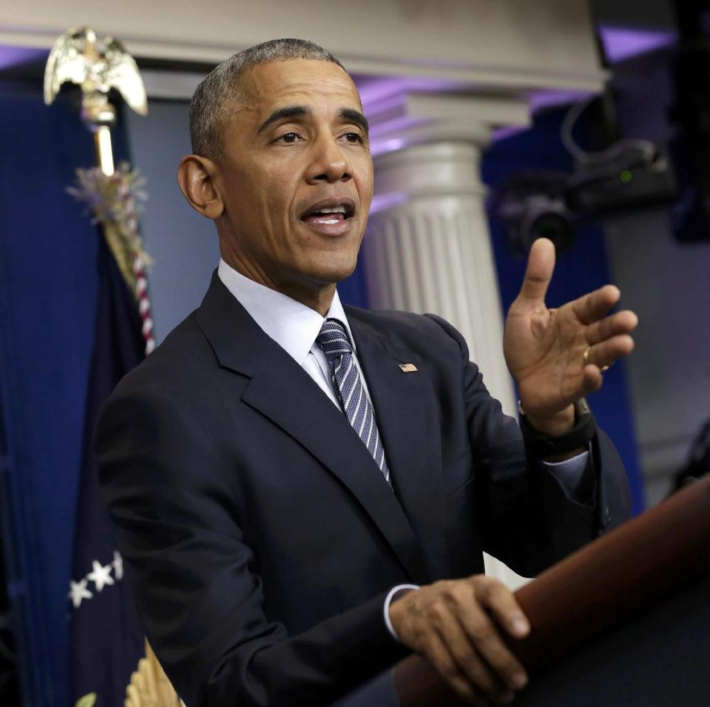 Obama: Terorisme Tak Bisa Dimusnahkan dengan Kekuatan Militer