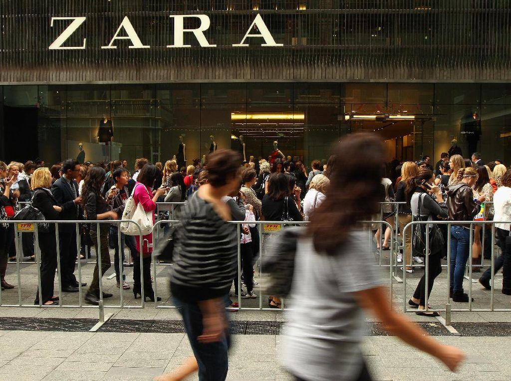 Zara Mau Tutup Satu Toko di Australia