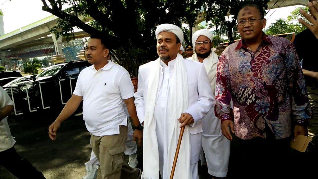 Kasus Orasi Ahmad Dhani, Habib Rizieq Persoalkan Surat Panggilan Polda