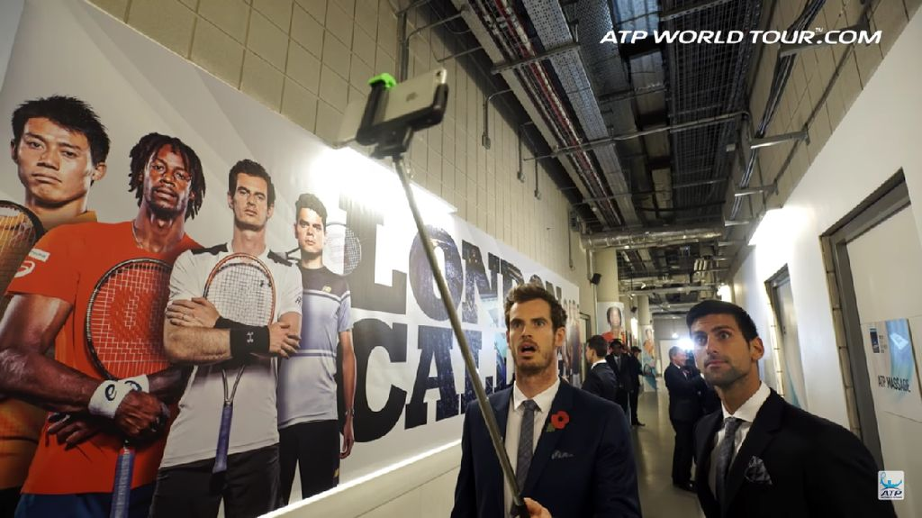 Tantangan Manekin Berujung Selfie Andy Murray cs