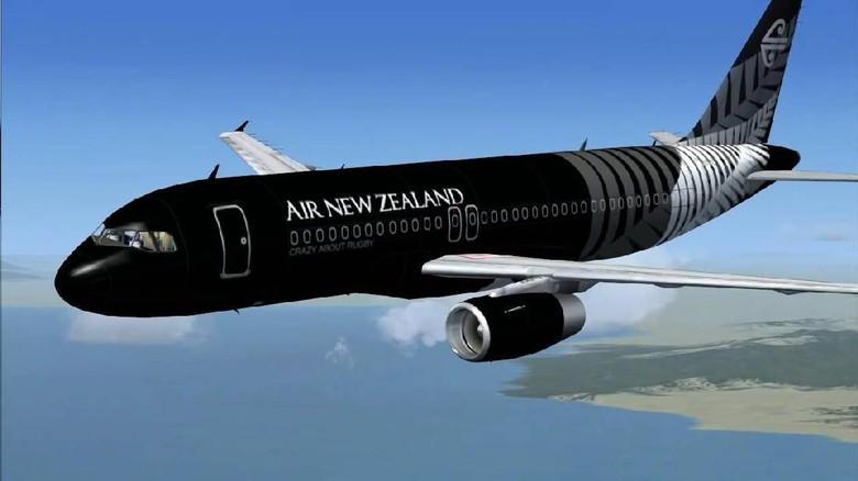 Tak Dapat Izin Mendarat di China Air New Zealand Kembali ke Auckland